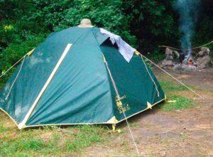 Прокат палатки Tramp Scout 3